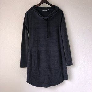 Athleta Techie Sweat Popover Dress